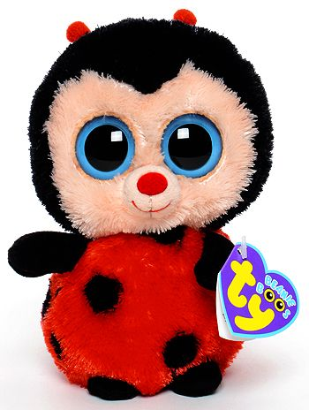 Bugsy - Ladybug - Ty Beanie Boos Birthday  August 15  1bdfaa59c66