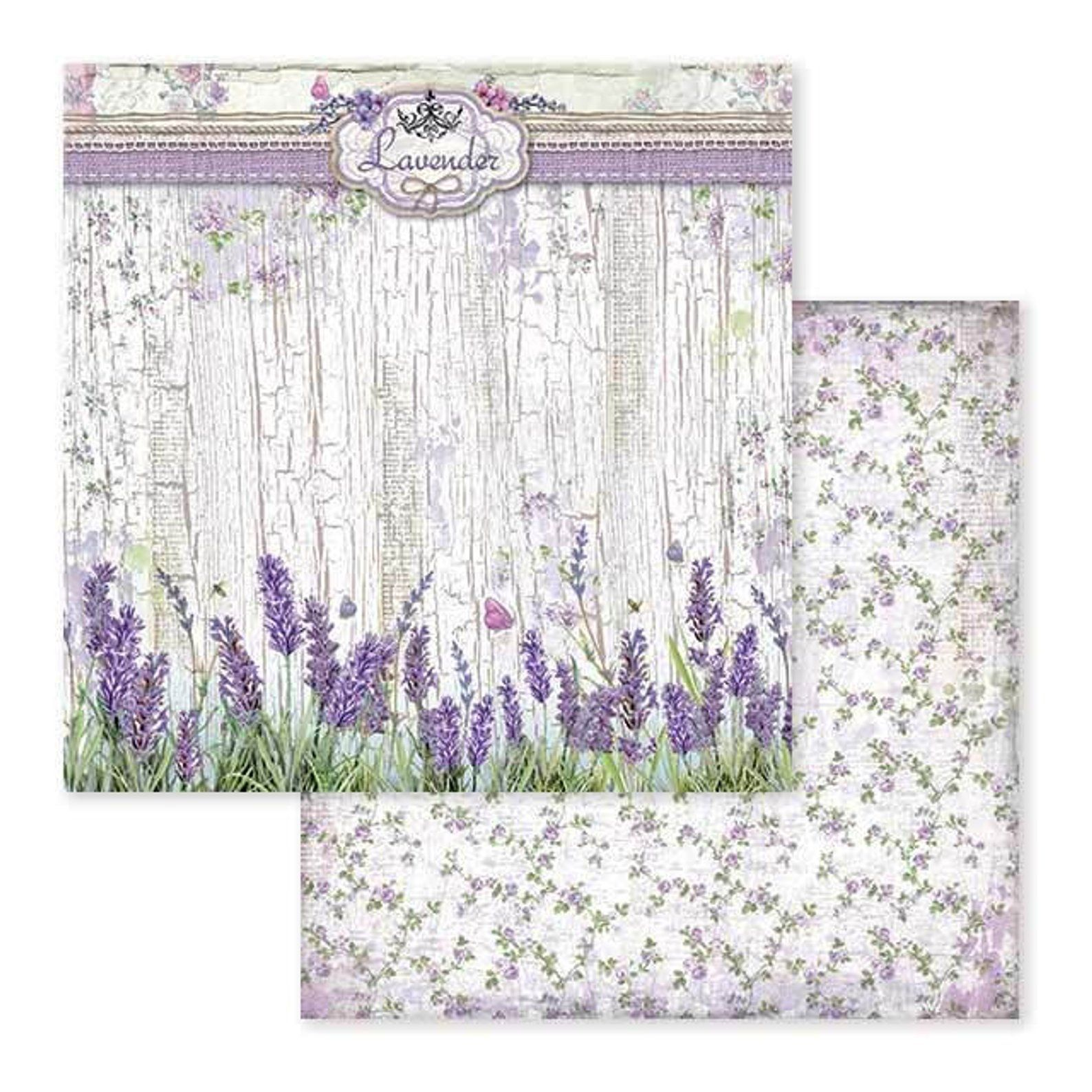 Stamperia Provence Paper Pack Double Sided Paper 12x12 Etsy Scrapbook Paper Paper Paper Pads