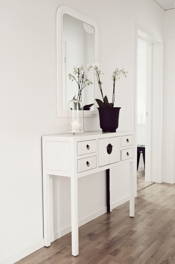 Thin Hallway Furniture ways to make a hallway more beautiful: it's easy and simple