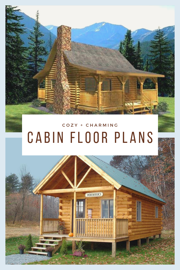 Cabin Floor Plans Cabin Floor Plans Cottage Floor Plans Log Cabin Plans