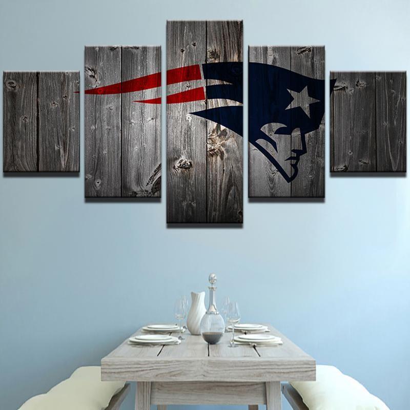 5 Piece Wall Art Canvas Print Decor Tennessee Titans USA Sports Football Artwork