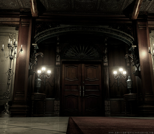 Spencer Mansion Main Entrance Resident Evil Remake