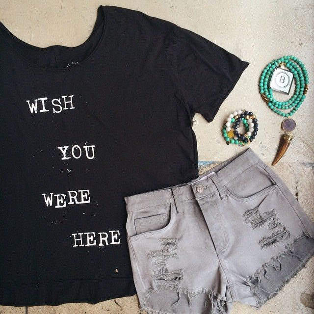 Shop our I Wish Tee {$46} in-store now!