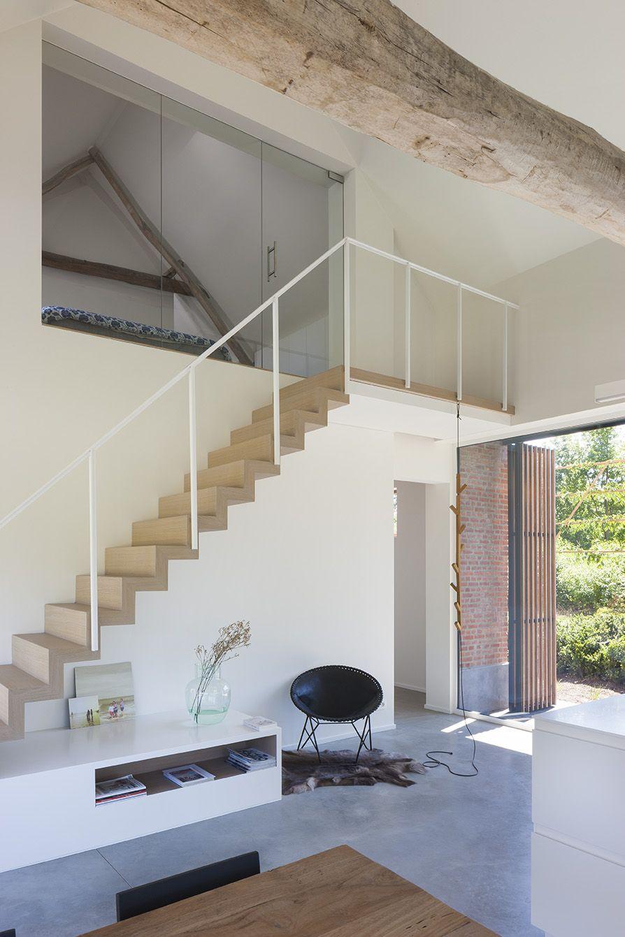 interieur en architectuurfotografie van een verbouwde hoeve te olen fotos liesbet goetschalckx master