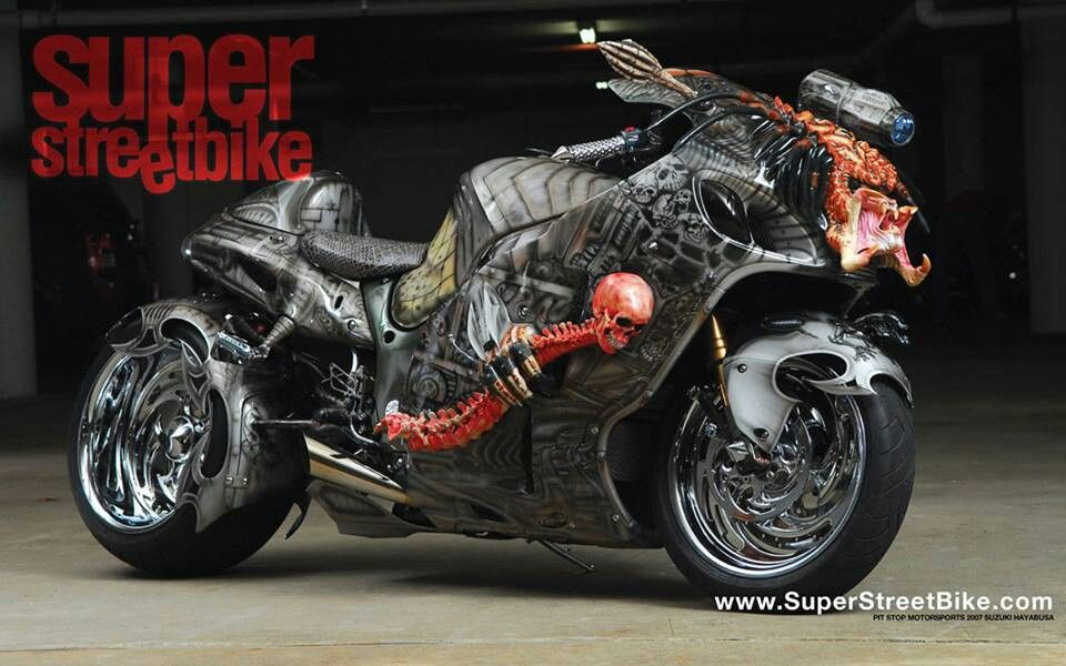 Super Street Bike Motorcycle Suzuki Hayabusa Super Bikes