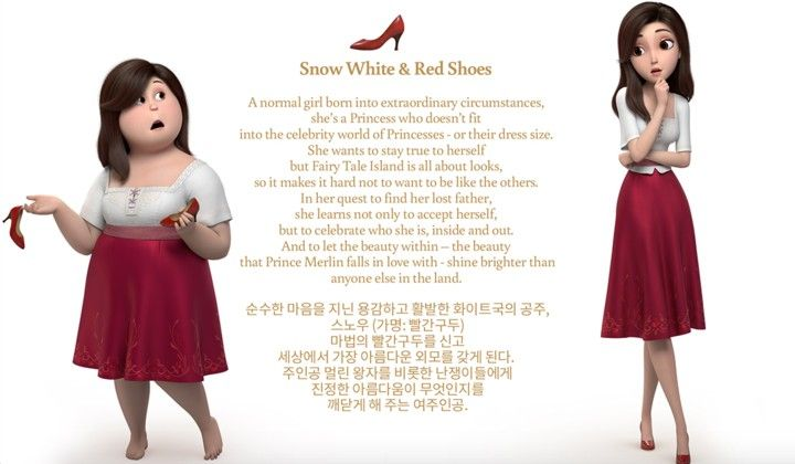 Watch Red Shoes & the 7 Dwarfs Full-Movie Streaming
