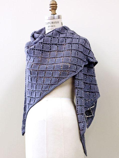 Free Shawl Knitting Patterns Knitting Pinterest Knitting