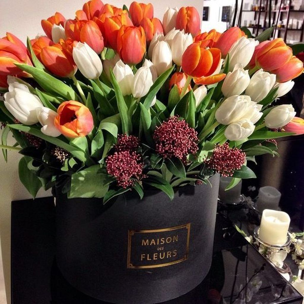 40 simple and lovely diy tulip arrangement ideas in 2020