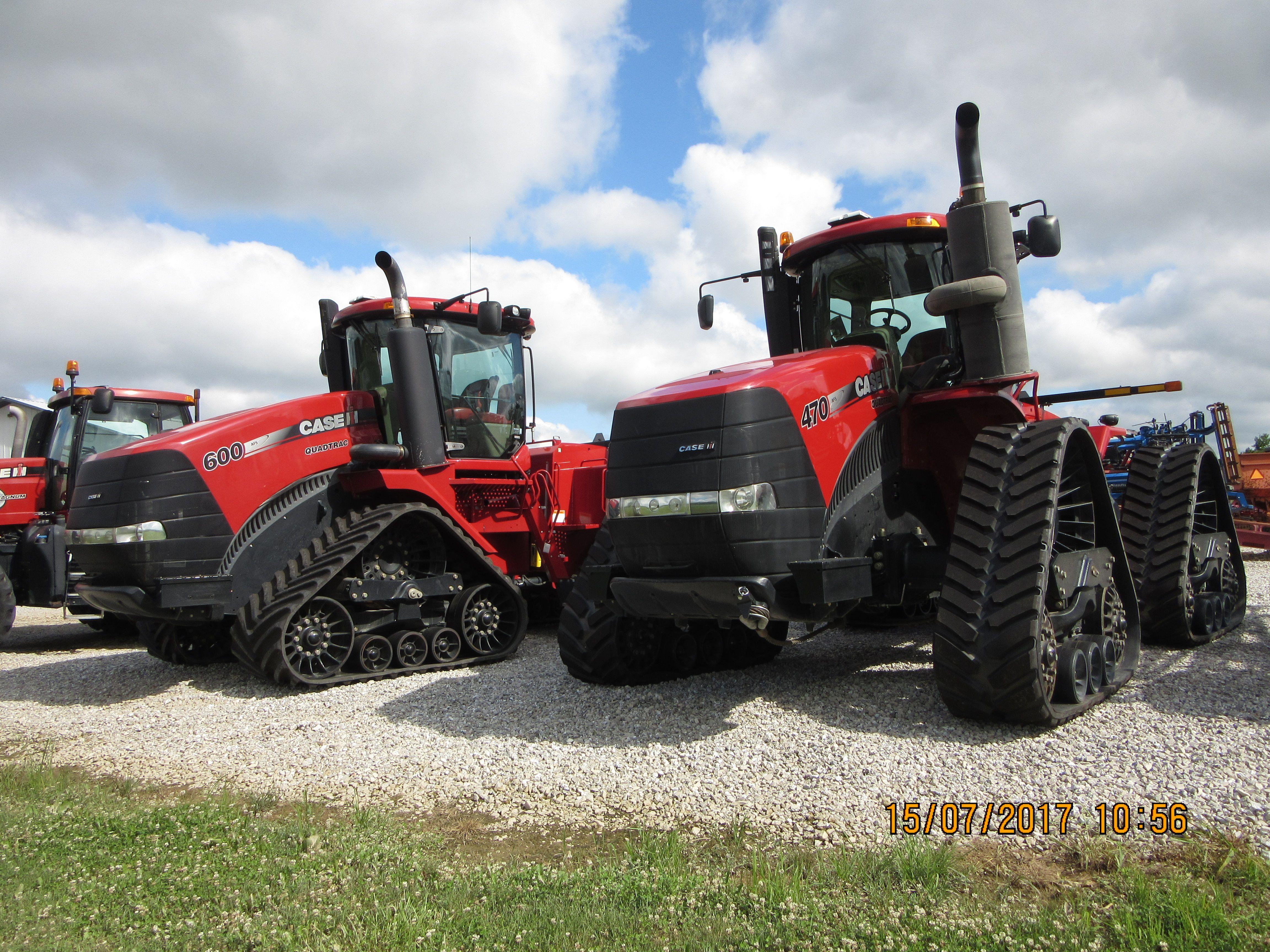 CaseIH Steiger 600 quadtrac & 470 rowtrac