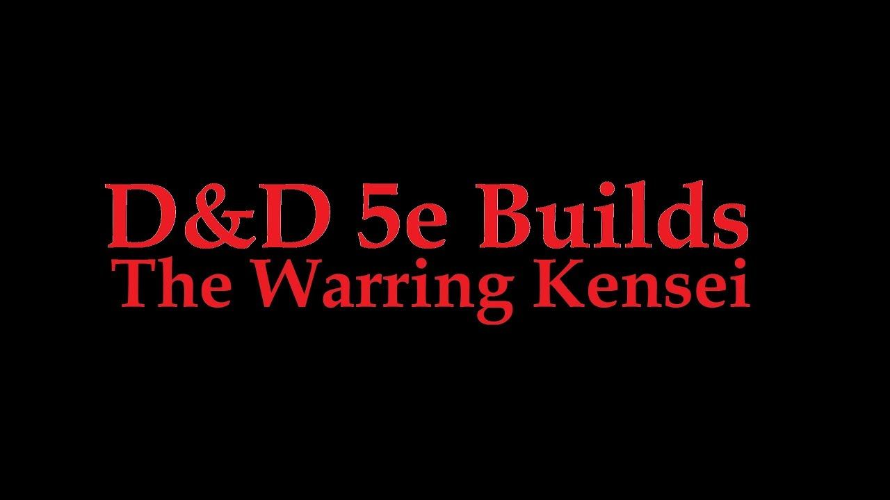 War Cleric and Kensei Monk multiclass D&D 5e  | Dungeon and