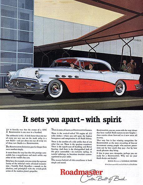 Buick...1956 Roadmaster