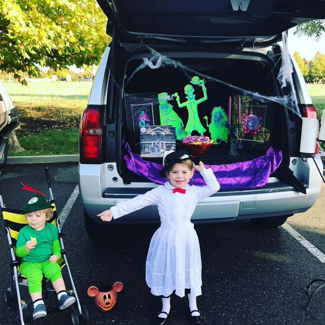 Peter Pan And Mary Poppins At Charlie S Preschool Trunk Or