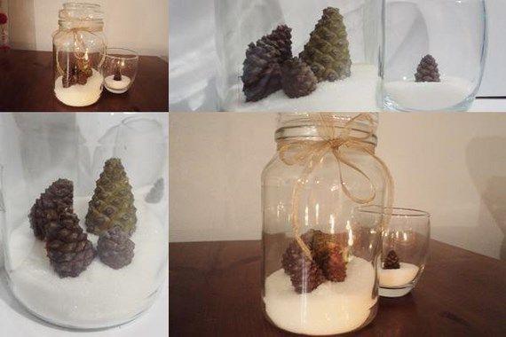 Pi as como utilizarlas para la decoraci n de navidad - Decorar pinas naturales ...