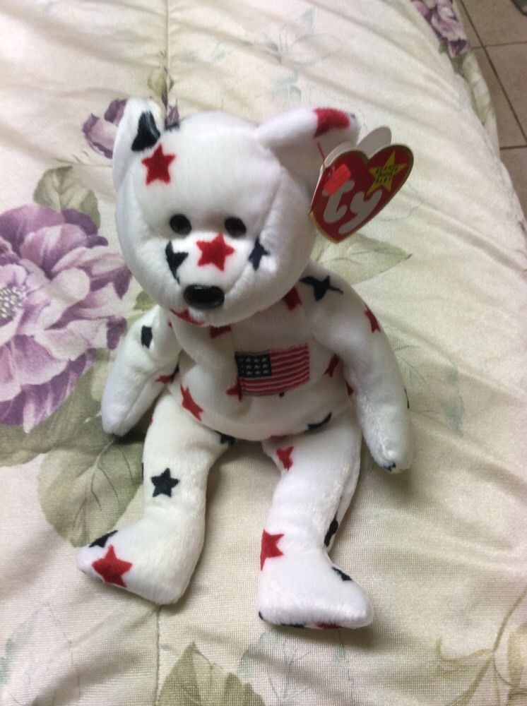 SPECIAL EDITION GLORY PE PELLETS BEANIE BABY W/TAG ERROR