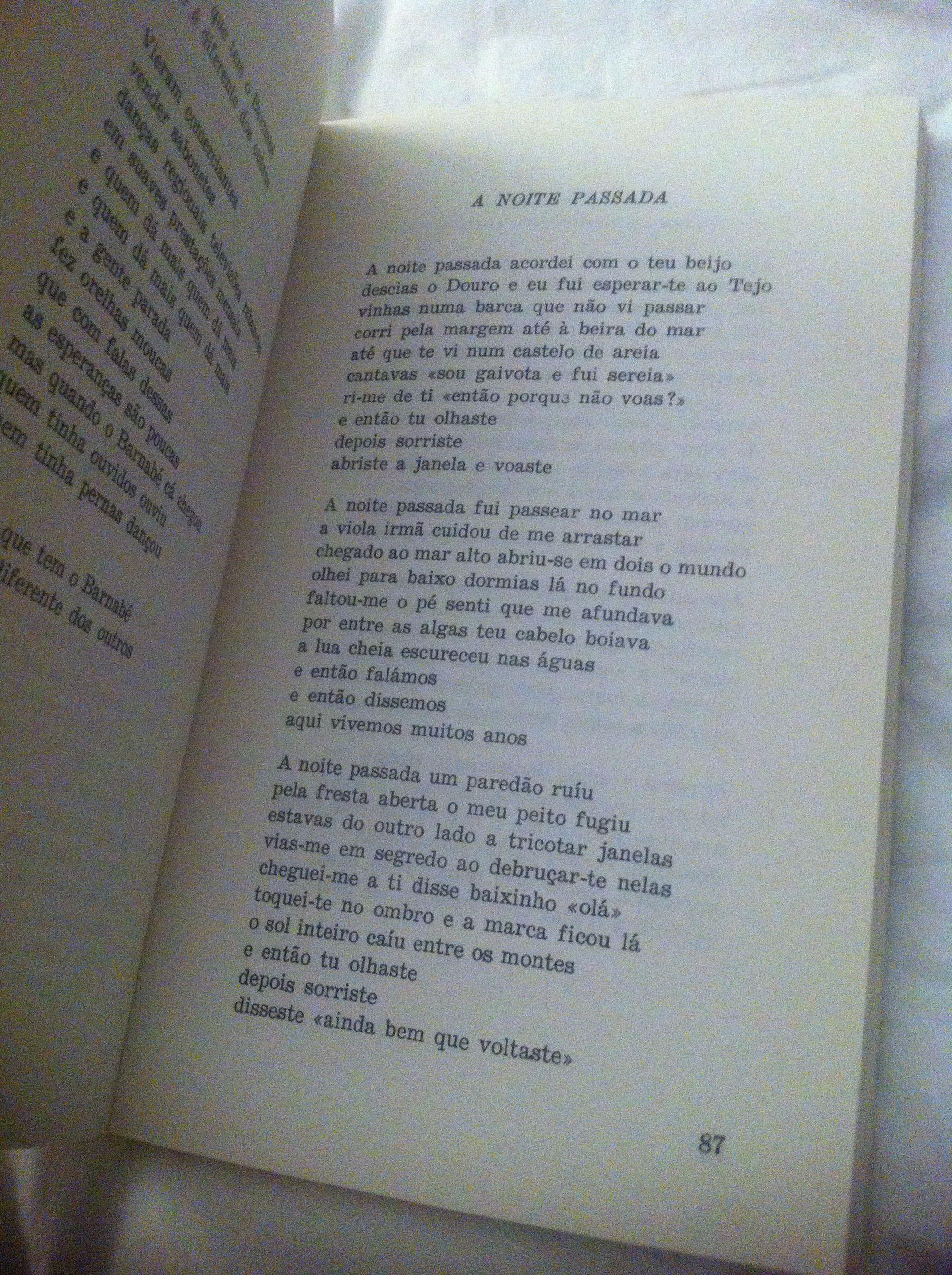 Sergio Godinho A Noite Passada Palavra Leitura Passo A Passo