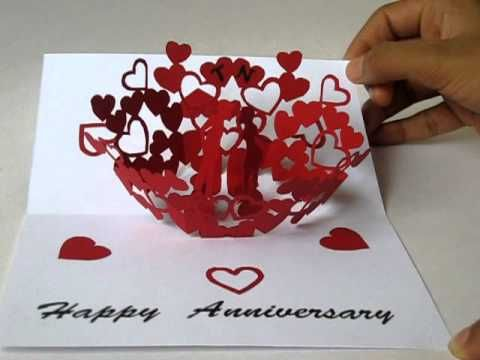 Pop Up Greeting Cards Pop Up Greeting Cards For Anniversary Http Paperpopcards Com Pop Up Greeting Cards Anniversary Cards Handmade Anniversary Cards