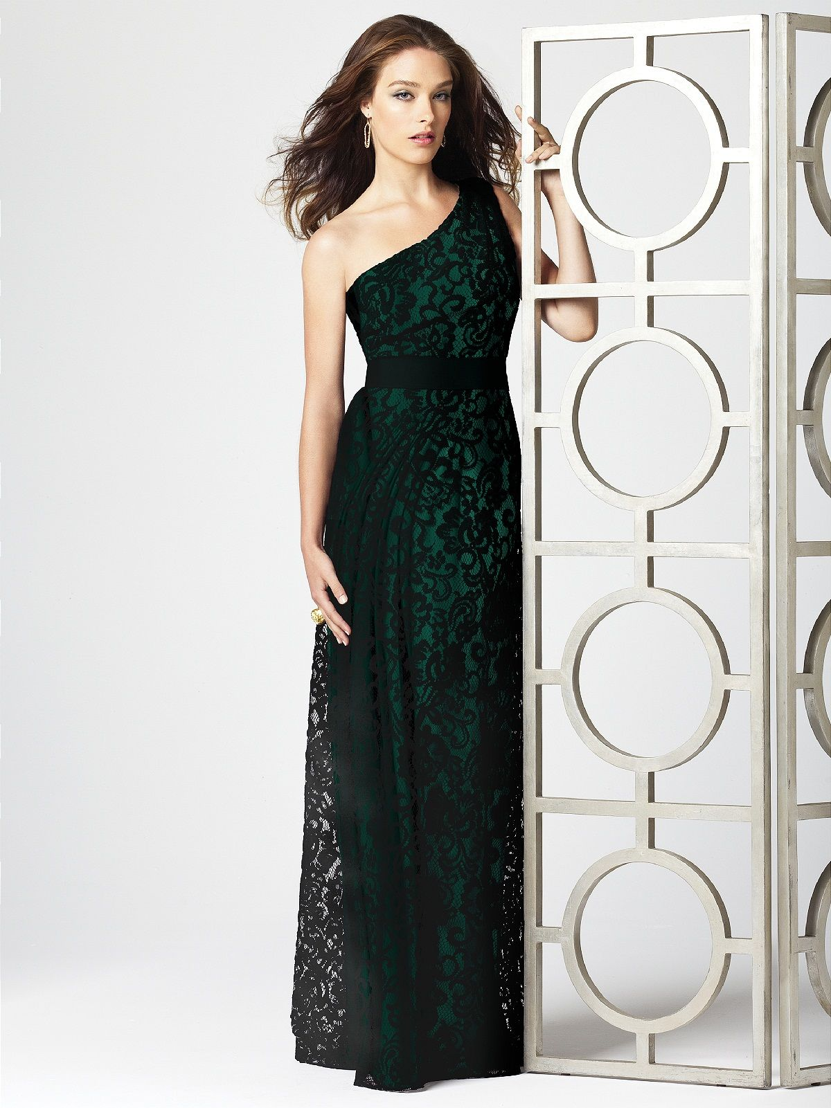 Bridesmaids dress hunter green lace wedding gowns and bridal