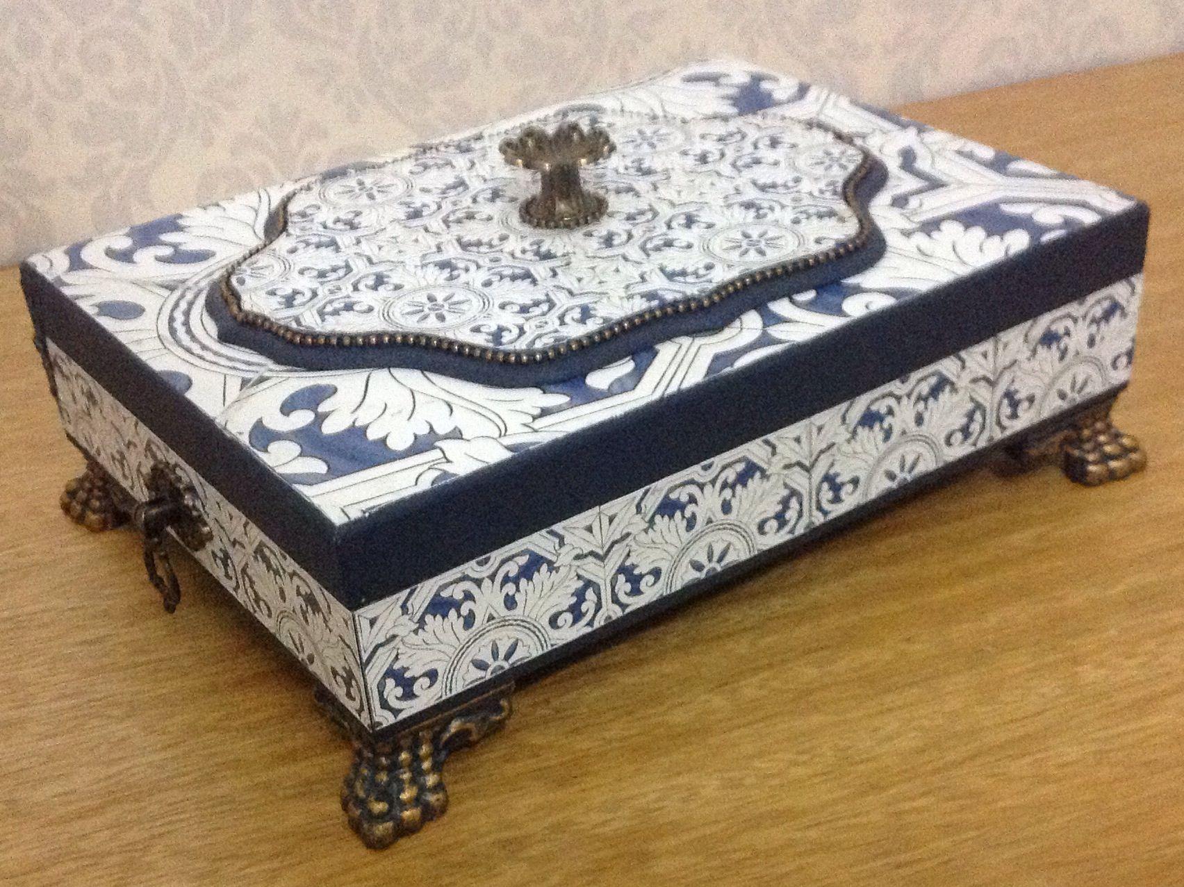 Caixa azulejo Português!!!