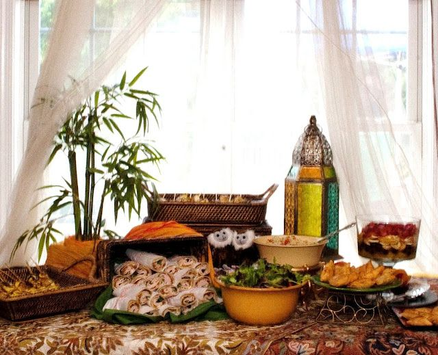 Moroccan Party Theme