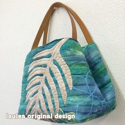 Hawaiian quilt Laulea 生徒さんの作品 | hawai | Pinterest | Applikationen