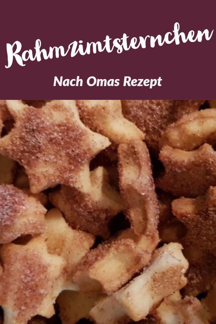 05.10.2019 - Zimtsterne mal anders aus Omas Weihnachtsbäckerei! #zimtsterne #weihnachtsplätzchen #plätzchen #weihnachtsbäckerei