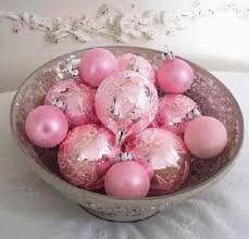Resultado de imagem para decoração de natal rosa e dourado