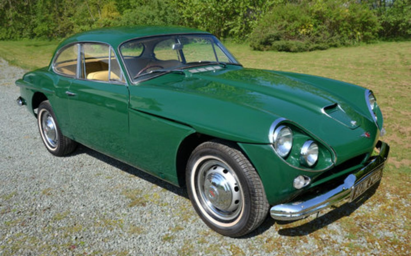 Sean Connery's Jensen CV8 sports car up for sale