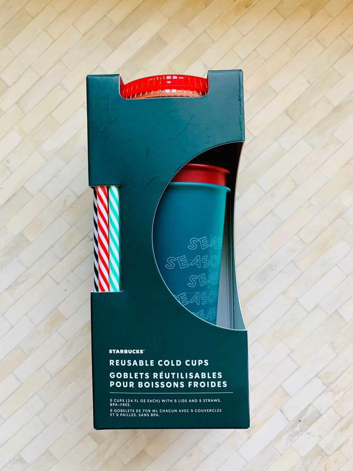 Brand new! Never opened limited edition set of cold cups