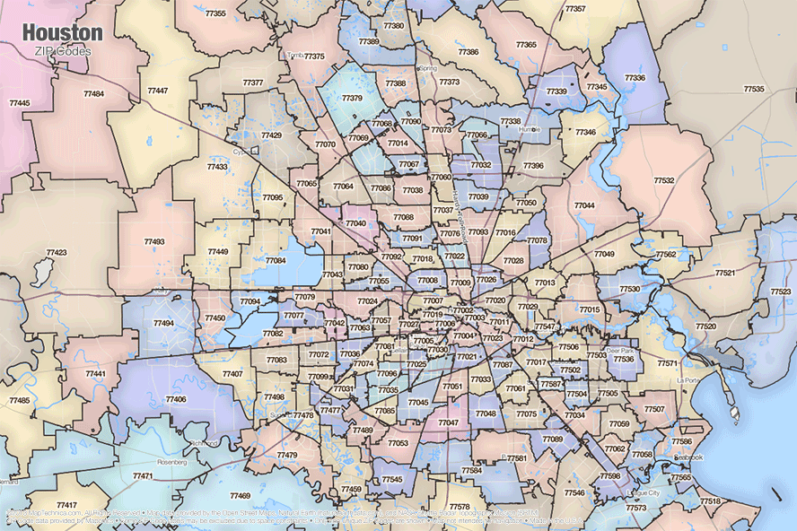 Zip Code Houston Map.South Houston Zip Code Map Yahoo Image Search Results Maps