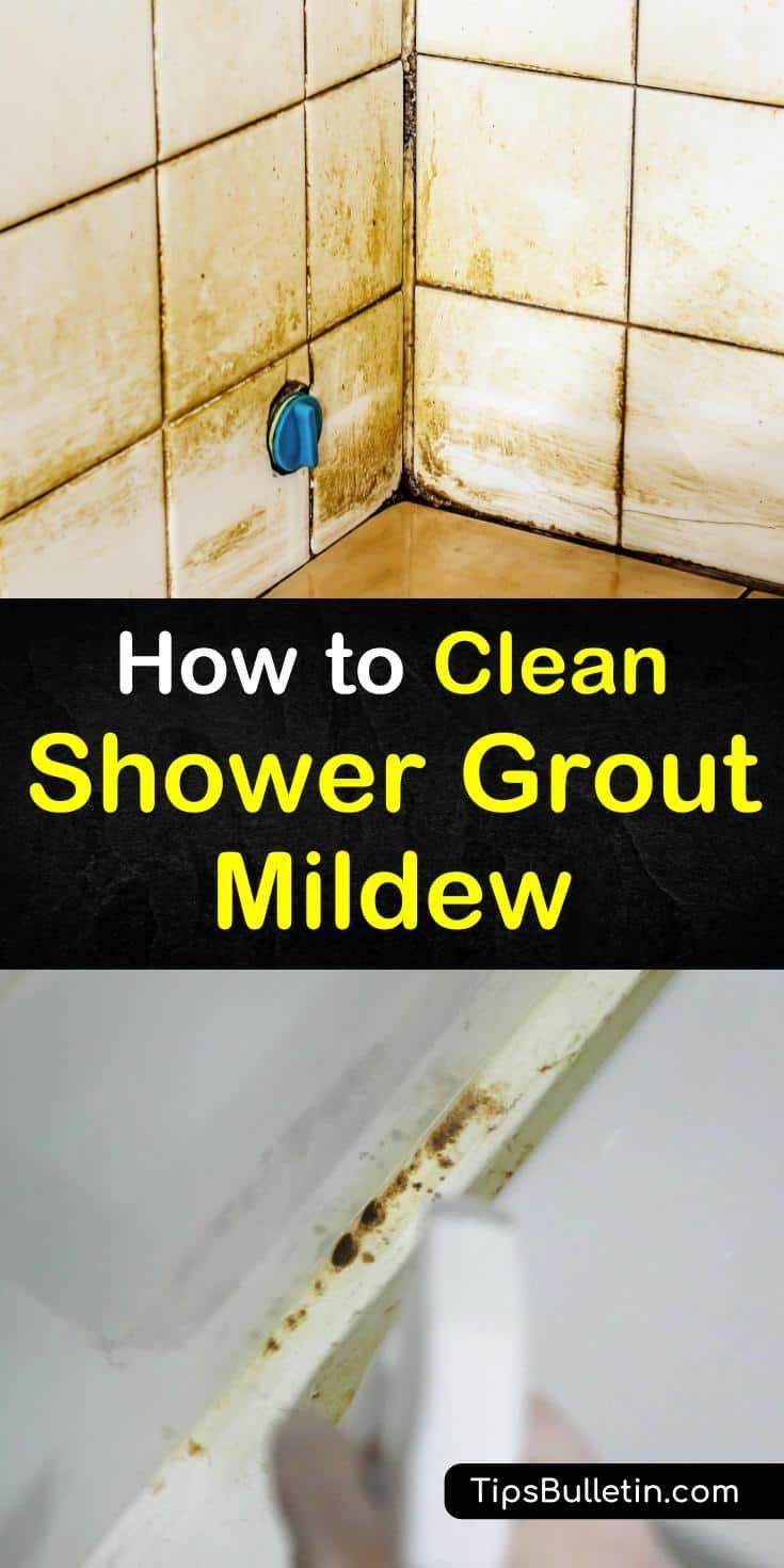 4 brilliant ways to clean shower grout mildew shower