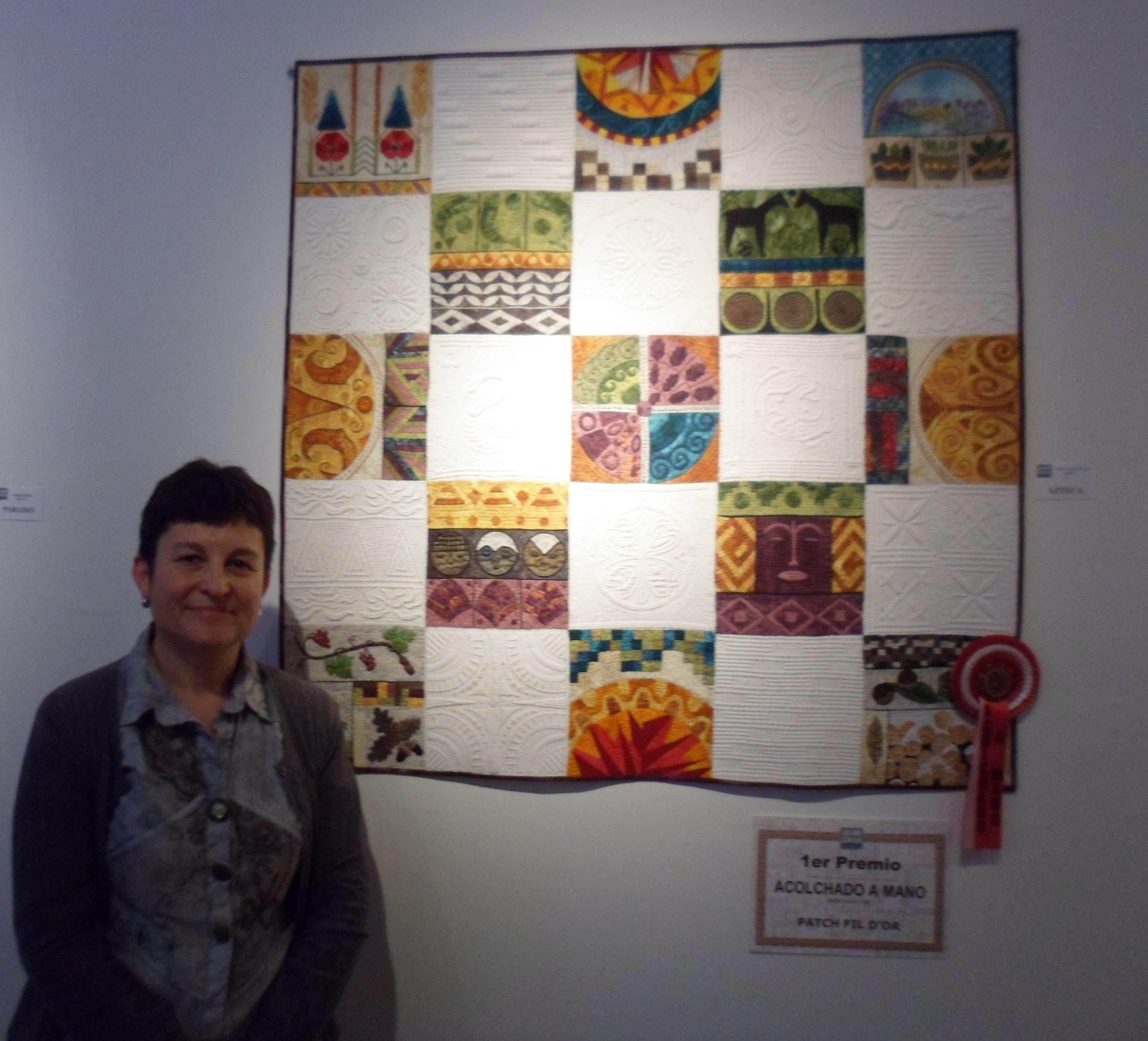 1er premio acolchado a mano. Festival Sitges