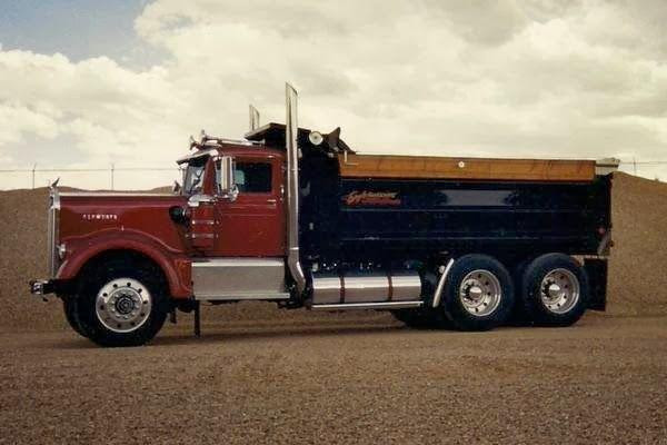 1962 Kenworth W900 Dump Truck Auto Custom Restorations Trucks Kenworth Dump Trucks