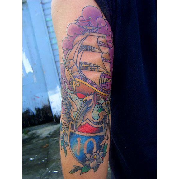 EYECANDY TATTOO ))) NEW ORLEANS LOUISIANA / Randy Muller Tattoos New ...