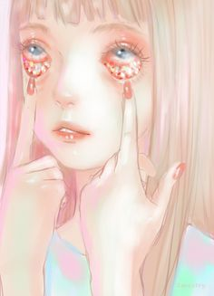 Image Result For Girls Pulls Planet Out Of Her Eyes Art
