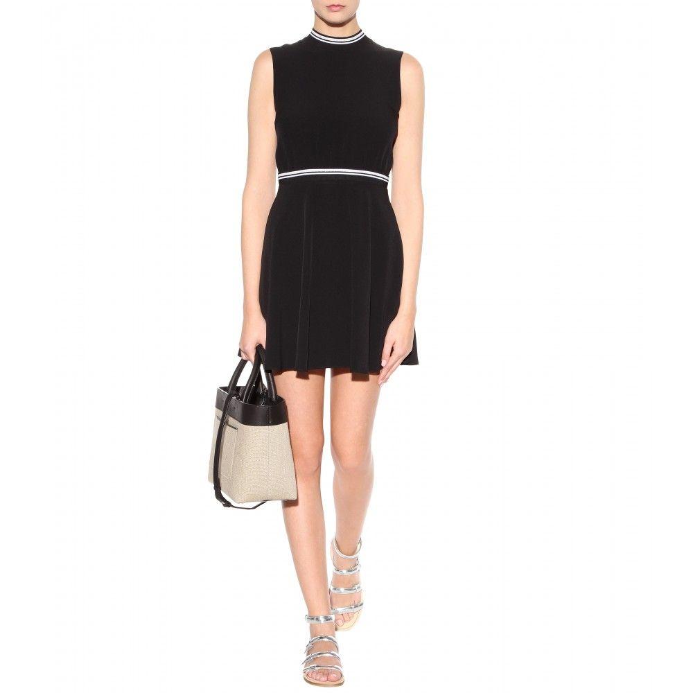 mytheresa.com - Crepe dress - Short - Dresses - Clothing - Victoria, Victoria Beckham - Luxury Fashion for Women / Designer clothing, shoes, bags