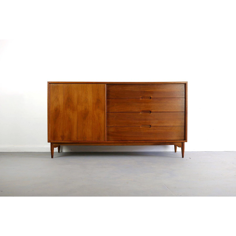 Best 1950S Mid Century Modern John Keal For Brown Saltman Low 400 x 300