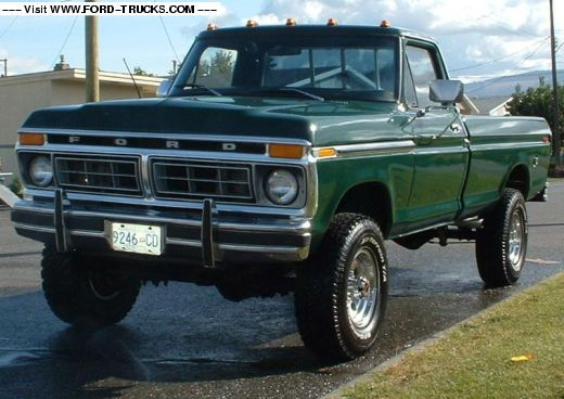 1977 Ford F250 4x4 Green Ghost Ford Trucks Ford 4x4 Trucks