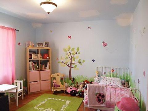ladybug flower toddler girl room makeover | kiddos rooms