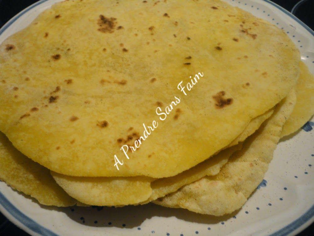 Tortillas de maïs fait maison | Fait maison