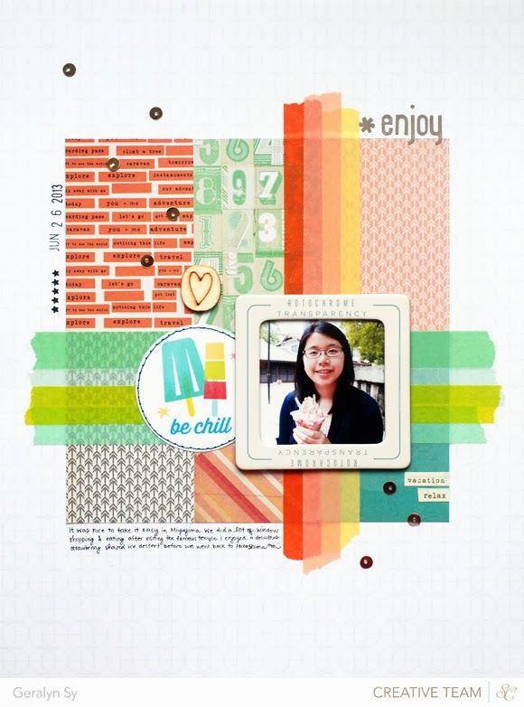In a Creative Bubble - cute washi tape borders