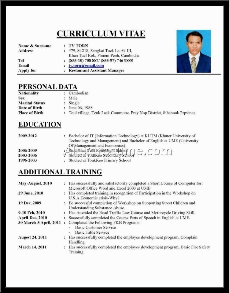 good cvs mascara samples cvv fonts format example resume pictures - examples of successful resumes
