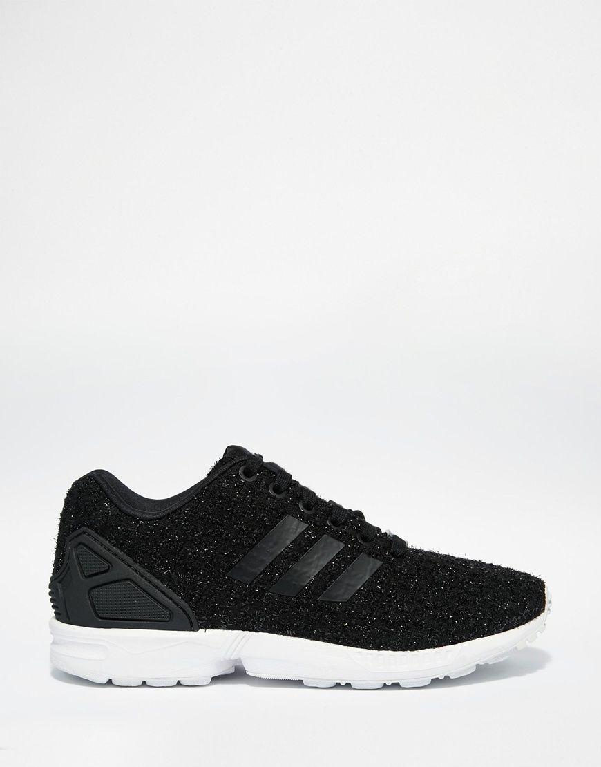 Adidas Originals ZX flujo Lux tela formadores zapatos envidia
