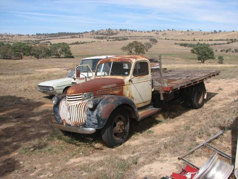 1946 Chev Truck Heavy Farming Agriculture Equipment Gumtree