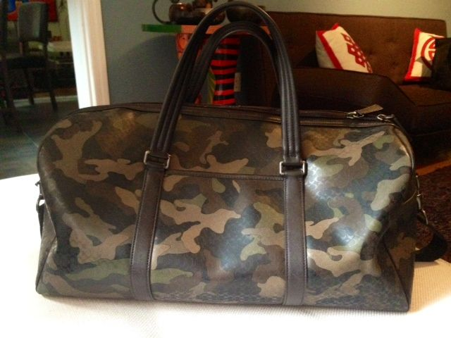 9e2032f853b74 Coach men s camo duffle bag. i want this bag cant find it at coach anymore