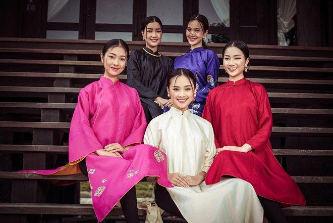 Người đẹp Hoa hậu Việt Nam 2016 đọ sắc trong tà áo dài hình ảnh 4
