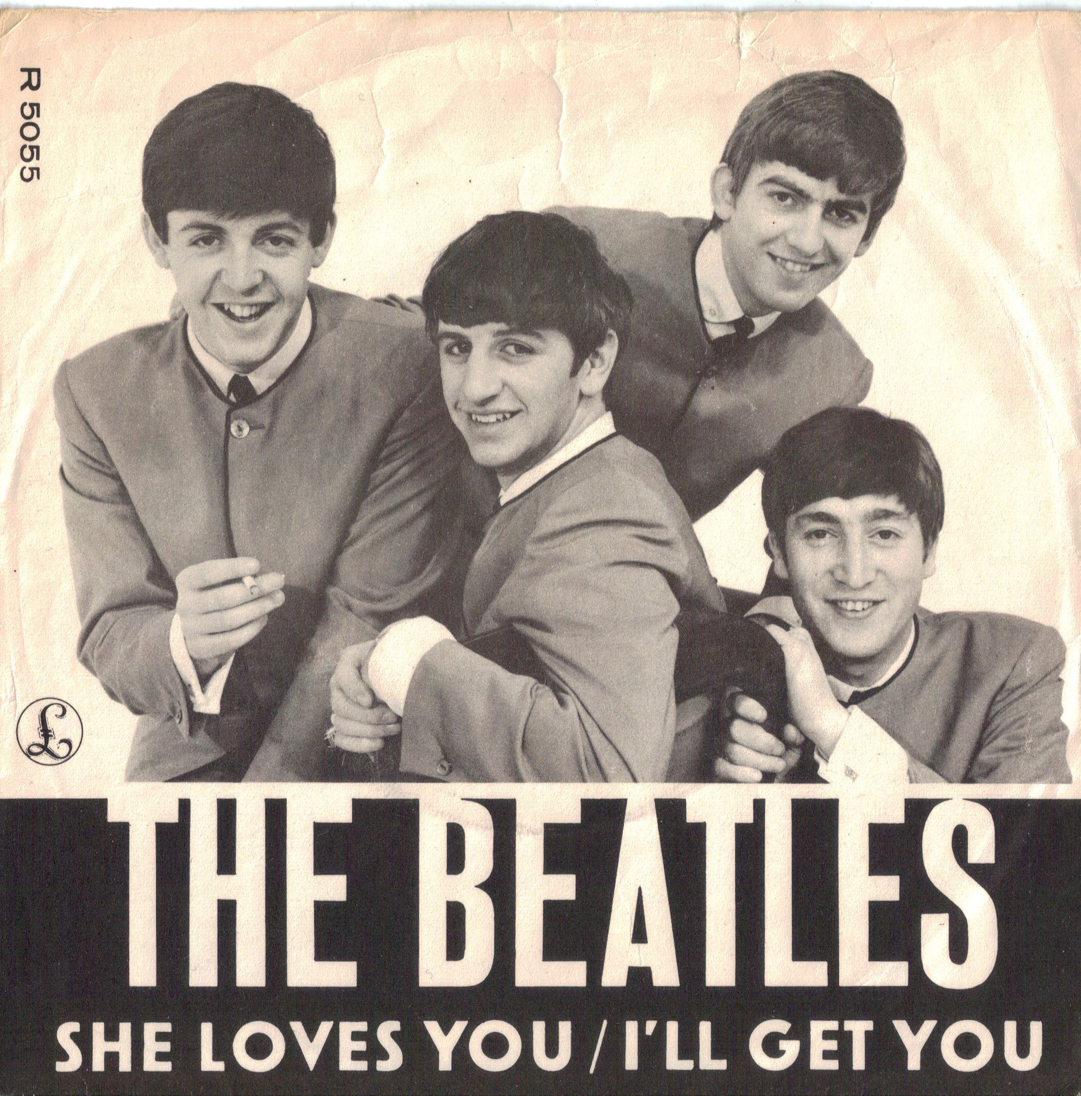 September 16 1963 She Loves You By The Beatles Was Released By Swan Records In The Us Although The Song Wa The Beatles The Beatles History Beatles Albums
