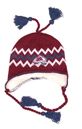 2150df13ad73 Colorado Avalanche Tassel Hat | NHL Tassel Hats | Hats, Colorado ...