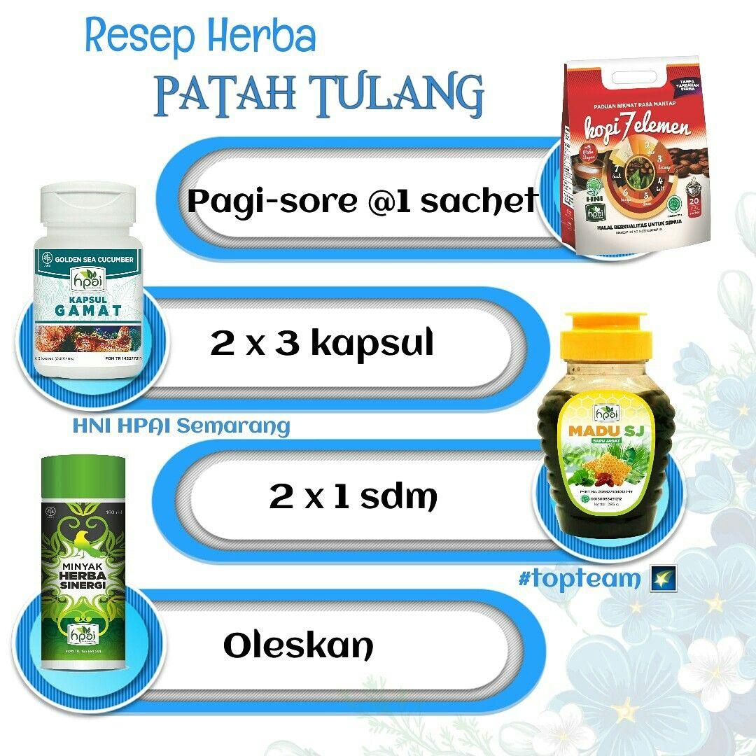 Resep Herba Patah Tulang Herba Obat Alami Resep