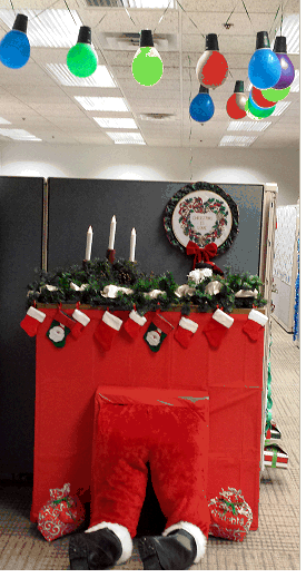lovely office cubicle christmas decorating ideas | Christmas Cubicle Decorations | BrizP | Pinterest ...