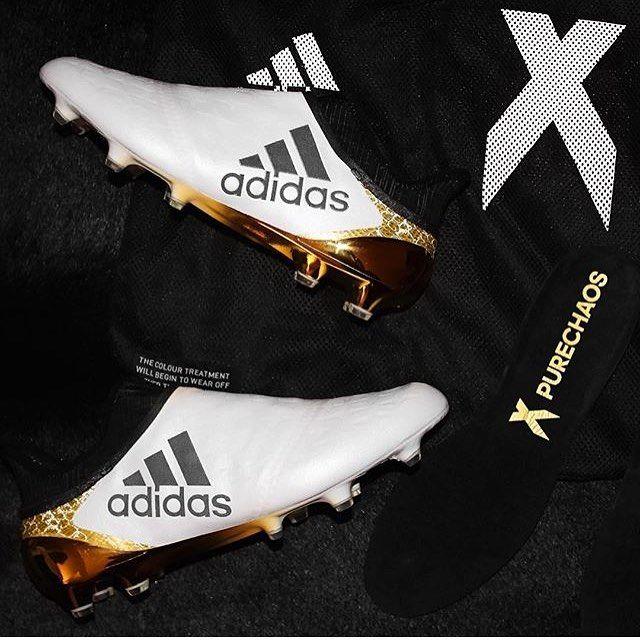 Adidas Stellar Pack X16 Purechaos Credits To Armandinho10 Football Vamesuhype Purechaos Stellarpack Adidasfoot Soccer Boots Soccer Gear Football Boots